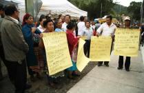 Otto Pérez Molina inaugura pavimentacion en La Antigua Guatemala