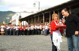 Carrera de Charolas, La Antigua Guatemala