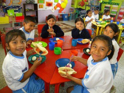 Plan Piloto sobre Seguridad Alimentaria beneficia a niños de Sacatepéquez