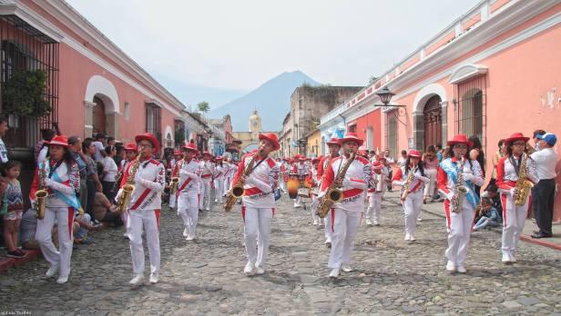 Desfile 15 de Septiembre Antigua Guatemala