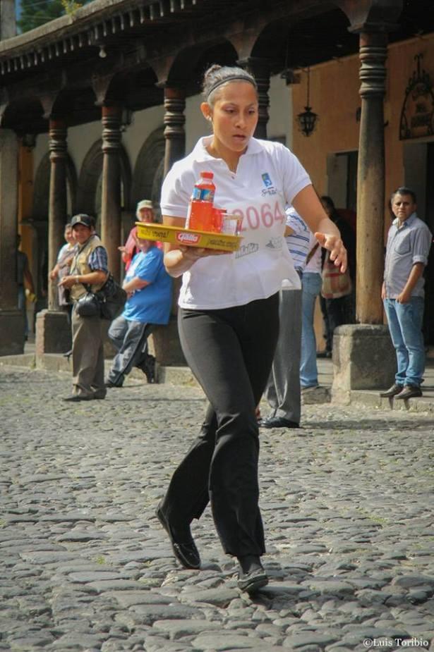 """xv carrera de charolas"" la antigua guatemala"