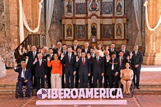 Bajo el lema, Iberoamérica próspera, inclusiva y sostenible se celebra este día la XXVI Cumbre Iberoamericana de Jefes de Estado y de Gobierno en la ciudad de La Antigua Guatemala.