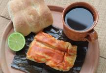 Tamal Antigüeño. Antigua Guatemala