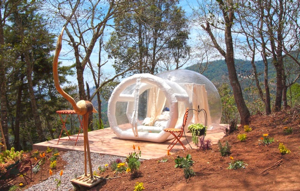 las Bubble tent de Altamira Antigua Guatemala