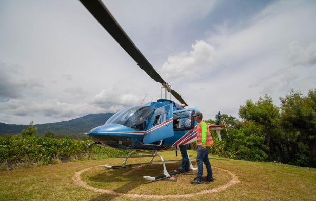 El Helitour en Antigua Guatemal