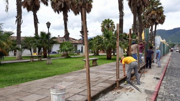 Remozamiento del Parque del Tanque de La Unión Antigua Guatemala
