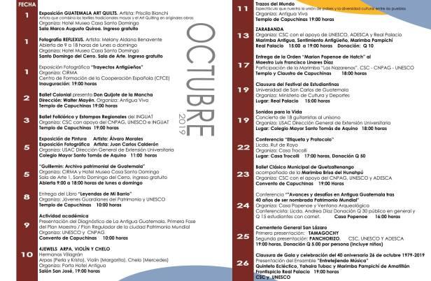 Programa de Actividades de la   Comisión Sociocultural de La Antigua Guatemala.jpg