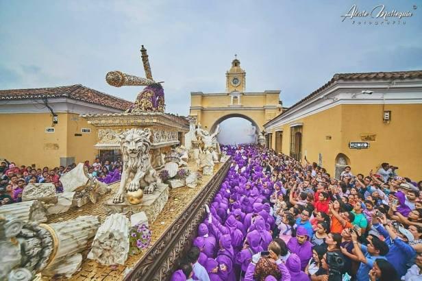 Antigua está lista para recibir la Cuaresma y Semana Santa.